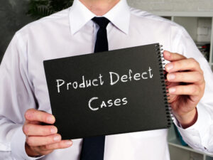 attorney for product defect claim
